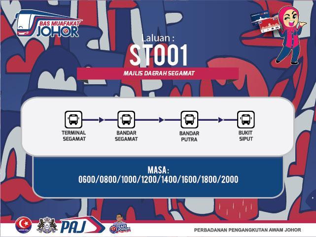 Laluan Bas Muafakat Johor 1